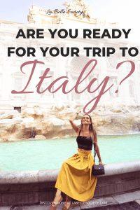 Rome Italy TRavel Tips