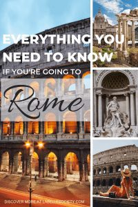 Everything you need to know if you are going to Rome