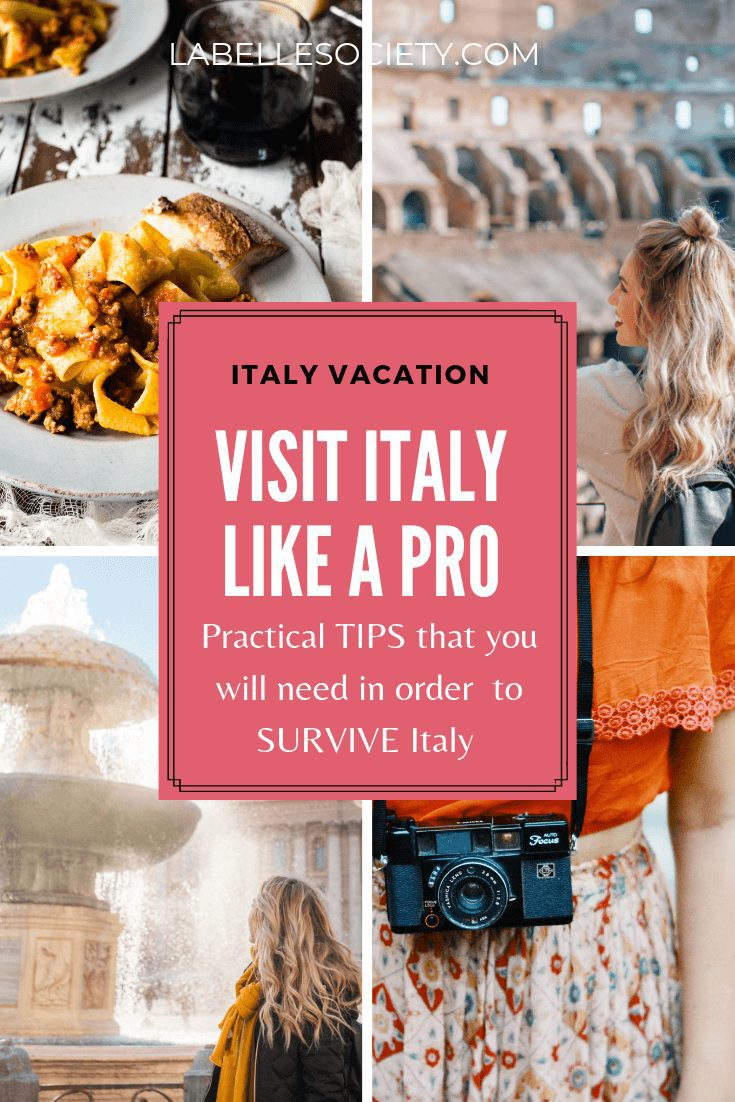 There are numerous travel precautions in Italy that you should master. For one, if you are planning a trip to Italy, you should bear in mind many cultural faux pas tips in Italy (such as cutting your pasta). With this Italy itinerary you will be ready to know all the Italy laws for tourists #italytravel #italyguide #fauxpas #italyessentials #tips