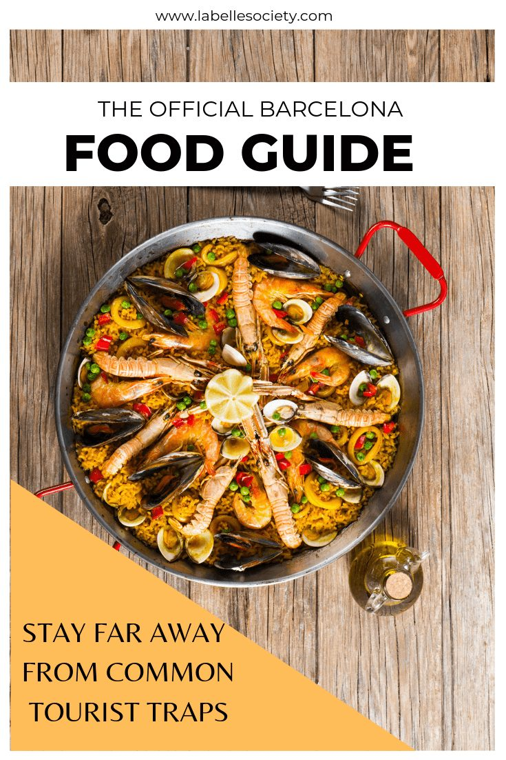Find my Barcelona food guide with must try restaurants in Barcelona. It includes the best tapas restaurants and all the hotspots of the Barcelona food scene, such as tapas and sangria. From cheap to healthy options, you will soon fall in love with the Spanish cuisine. #barcelonafoodguide #barcelonatapasrestaurants #whattodoinbarcelona