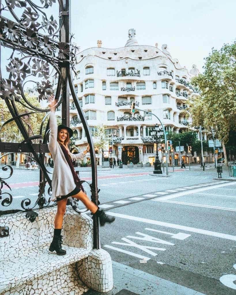 Have fun with my Barcelona walking tour. An easy self giuided tour for you to make on your own pace in two days