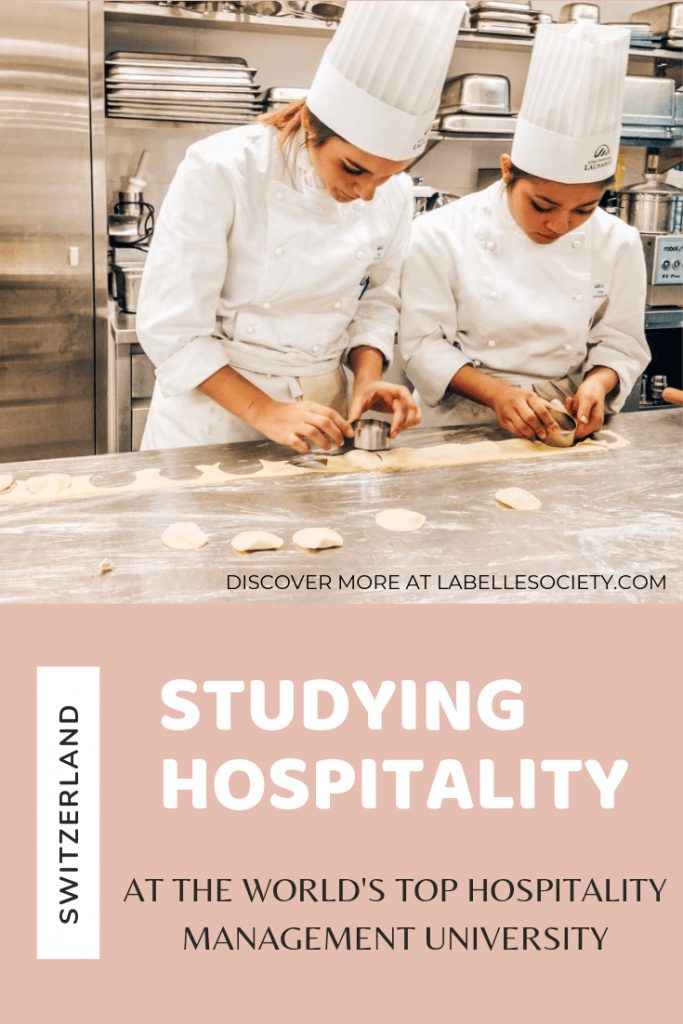 Life as a student at the world-s best hospitality university
