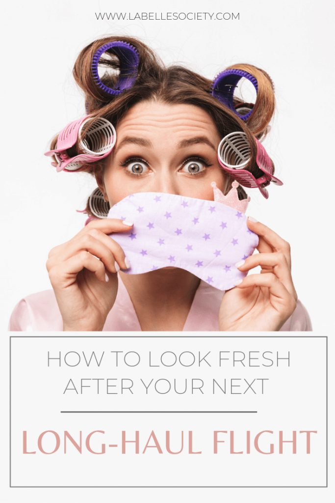 After so many years of traveling and feeling like an old raisin, I've decided to take action and learn from the best how to travel like a pro and land looking my absolute best.  This meant understanding the basics of what an inflight beauty care routine comprise #beautyhacks #travelbeautytips #flighthacks #filghttips