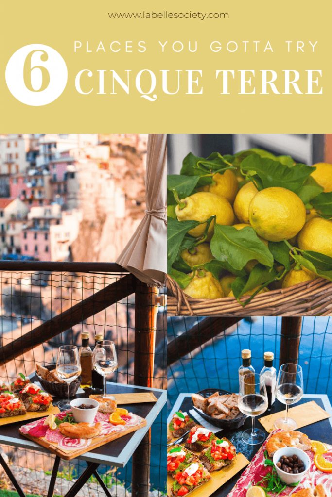 Do you like Italian food? I bet you do. And if Cinque Terre is in your bucket list of places to go this summer, then you are in god hands. In this foodie guide you will find all the top restaurants that I recommend after being to Cinque terre twice. Don't miss out on these best snacks of Italy (did anyone say pesto?). Pair it up with a good glass of wine and you got yourself a delicious Italian combo for dinner. #cinqueterre #amalficoast #travelguide #pesto #whattoeat