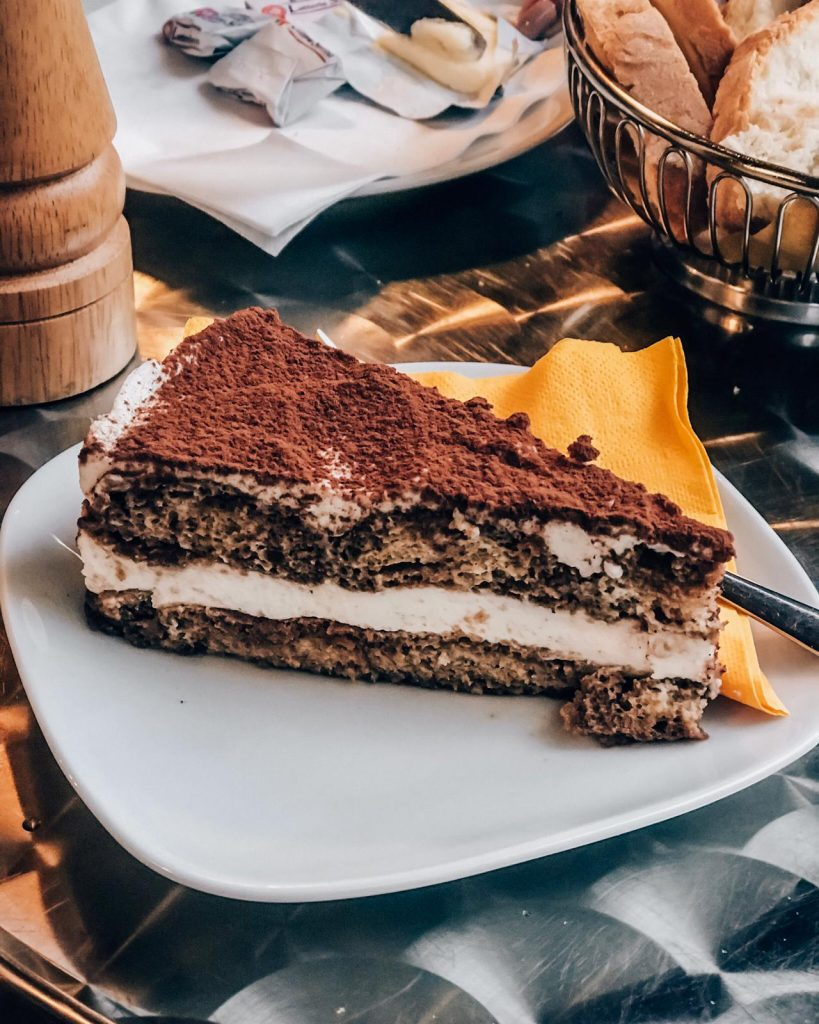 Tiramisu a popular italian dessert. Ital food lovers, the best of Italian cusine.