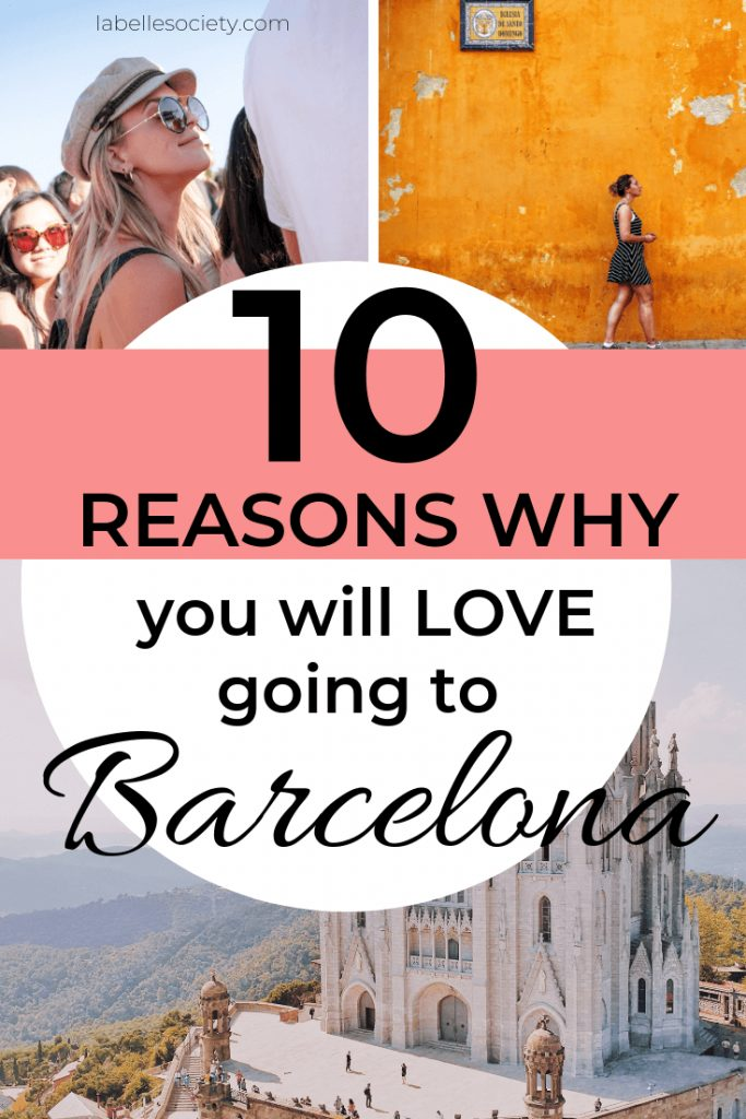 Living in Barcelona these past 3 years has been a true blessing and allowed me to gather Barcelona tips to create this guide for you. There truly seem to be endless benefits of living in Antoni Gaudi's city and there are specifically 10 fantastic reasons why I love living in Barcelona. Discover places to visit with inspiring photos. #inspiration #travelinspiration #barcelonaphotography #vacations #vacationplanning