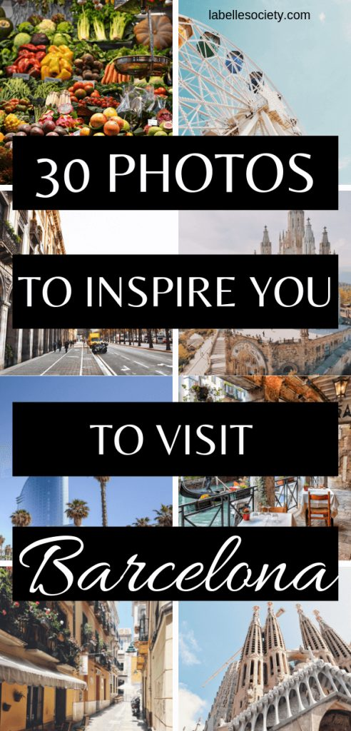 Need some inspiration to decide where to take your next travel? Not sure where to find the best instagram spots in Barcelona? With my Barcelona photography post you will be sure to get ideas and inspiration for your trip to Barcelona, in Spain. Find photography of people, streets, beaches, architecture (and famous Barcelona attrcations such as The Sagrada Familia, and more). #barcelonaphotography #inspiration #travel #pictures