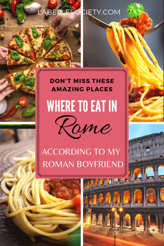 Are you wondering where to eat in Rome to find the best pasta? In this Italian food guide you will find best places to eat in Rome, including where to find the most authntic fresh pasta. Have the most delicious dining experience in Rome in these top authntic places to eat #eatinrome #wheretoeatinRome #bestpastainrome #romefood