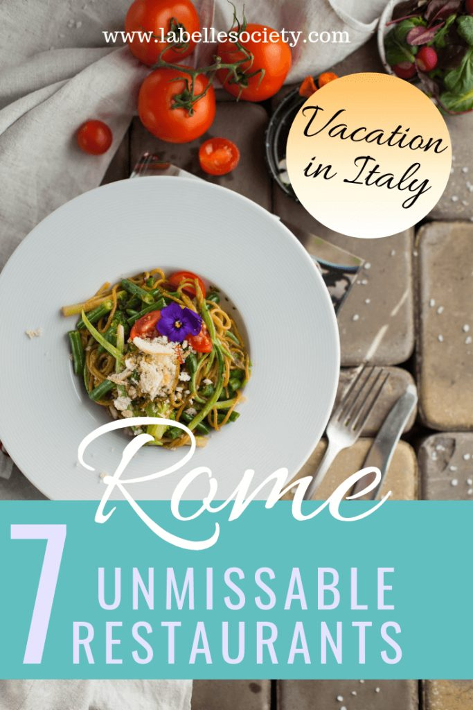 Top authentic places to eat in Rome