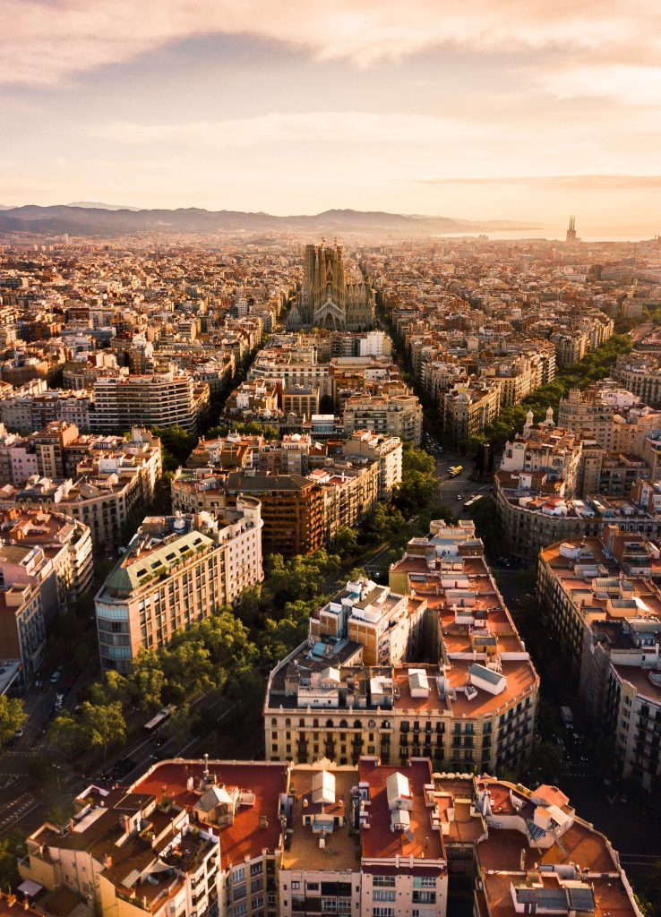 Seeing the Bunkers del carmel from above is among the top most important things to see when you travel to Barcelona Spain #barcelona #travel
