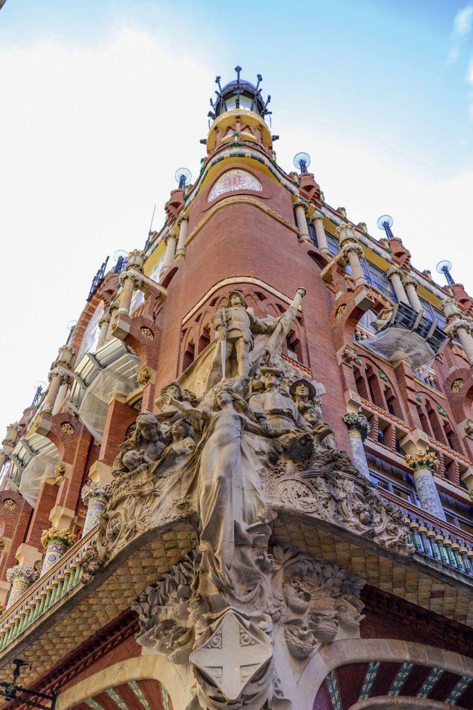 The Palau de la Musica Catalana