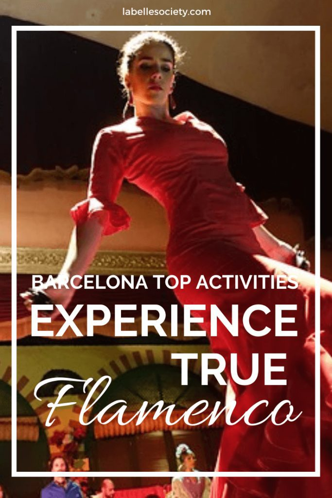 Planning a travel to Barcelona, you've come to the right place. One of the tops things to do in Barcelona is go to an authentic Flamenco show, complete with a tapas dinner and some sangria #barcelonanightlife #barcelonatravel #thingstodo