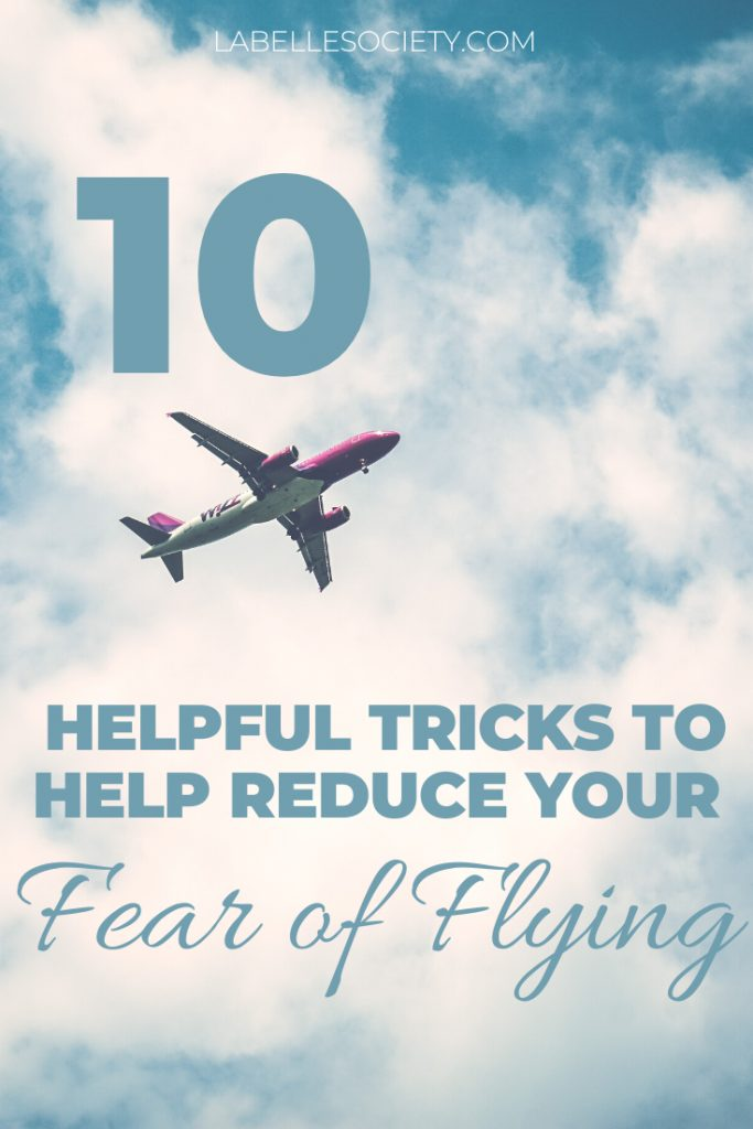 Love to travel but have a horrible fear of flying? Don't worry I have a few airplane travel tips for long haul flights to help your fear of flying. Click through and discover in-flight entertainment ideas, things to do on a plane to distract yourself, what to wear (including packing tips of what to bring in your carry on for optimal comfort). #airplanetraveltips #fearofflying #longhaulflighttraveltips