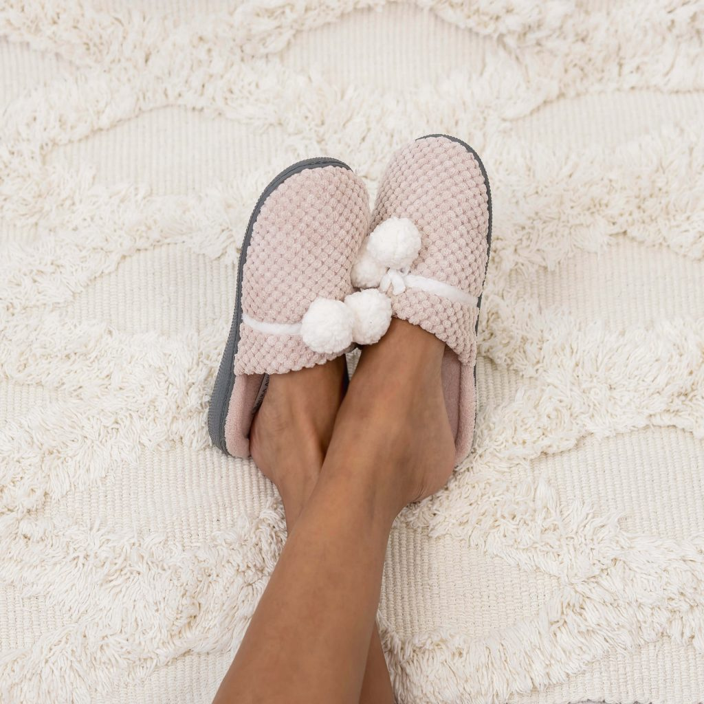 Ideas for DIY homemade Spa | bring a pair of slipper or flip flops