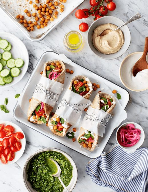 Shawarma Wraps  I have put together some easy, colorful, and healthy  summer recipes to inspire you to keep  #healthysummerrecipes #healthyeating #summerrecipes  #ShawarmaWraps