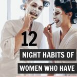12 Nighttime Beauty Tips for Glowing Hair and Skin | Looking for the best skincare routine to have a healthy skincare? Find 12 easy overnight beauty and glow up tips to achieve glowing skin when you wake up. From heathy skin care routine to hair hacks and DIY face masks made with coconut oil and coffee. #overnightbeautytips #nighttimebeauty #skincareglowingskin #skincarenight #beautytips