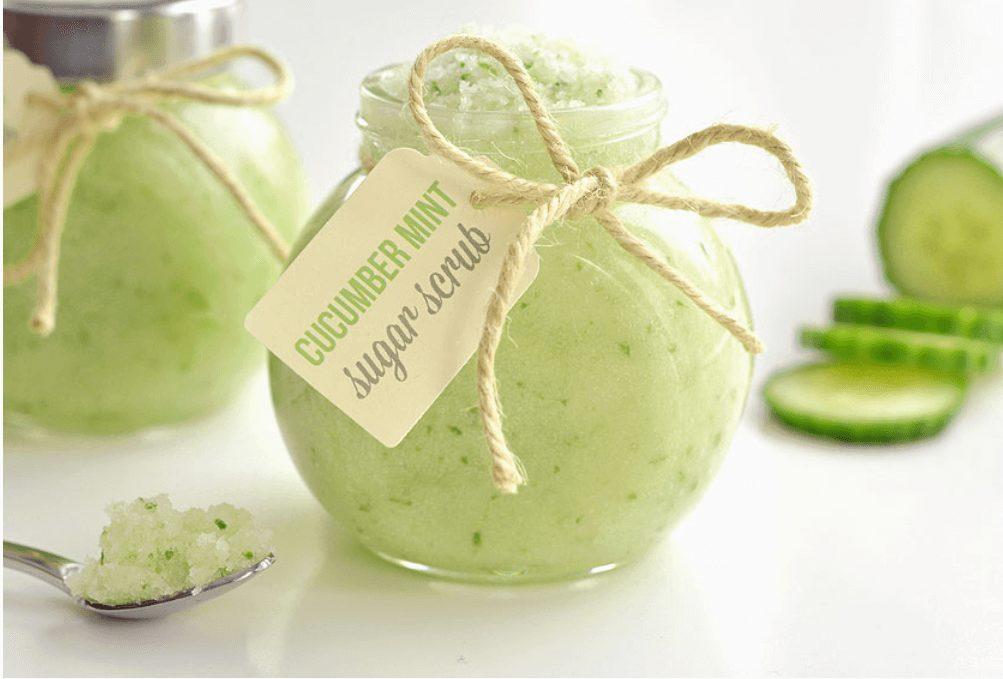 Cucumber Mint Sugar Scrub