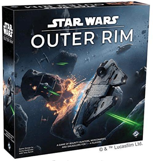Fun Board Games on Amazon |April 2020 Favorites - Star Wars: Outer Rim