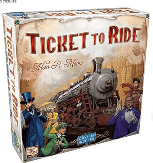 Best Board Games on Amazon |April 2020 Favorites - Ticket to Ride