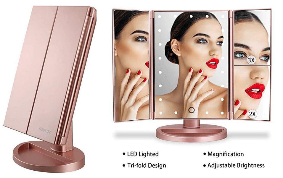 Best beauty tools from Amazon: VANITY MAKEUP MIRROR