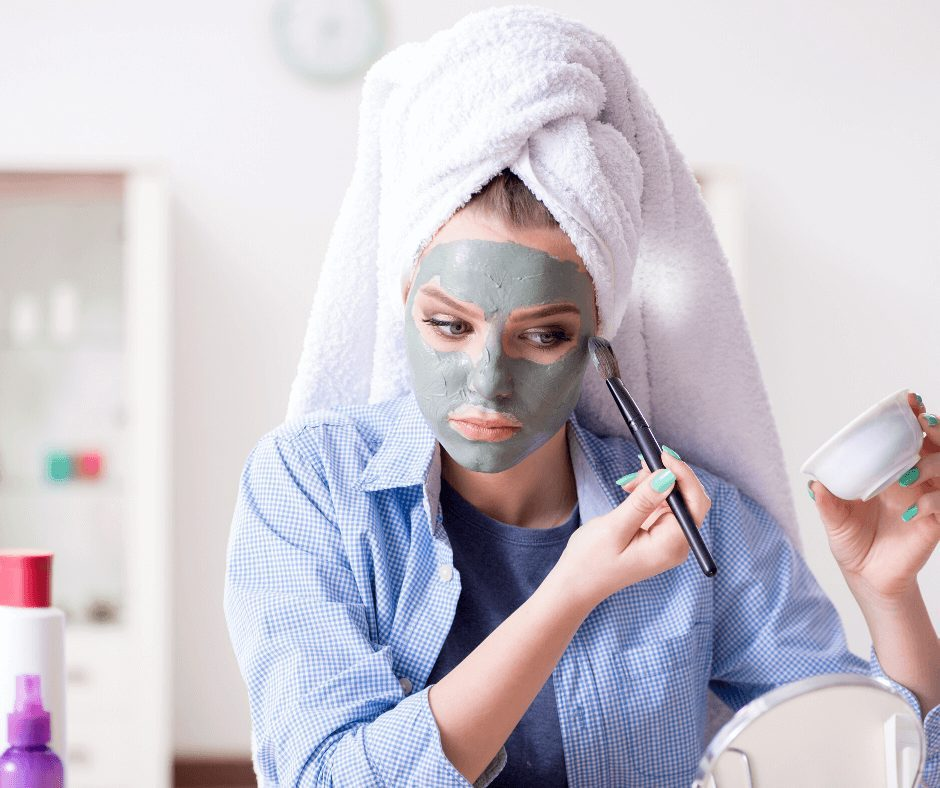 How To Apply A Clay Face Mask