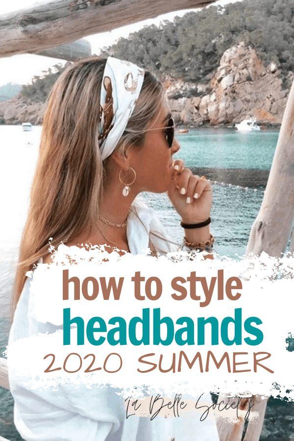 How to wear a headband