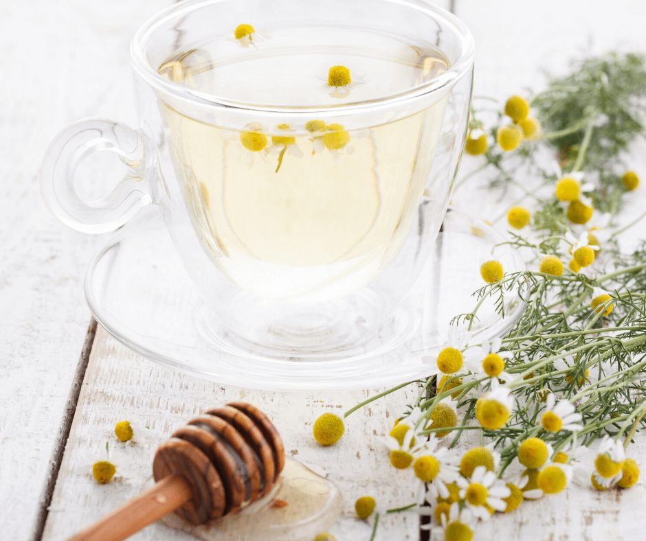 If you have dark hair and want to lighten it naturally, this one's for you! Even if you have super dark hair, chamomile tea helps you add more of a golden glow to your darkened locks.