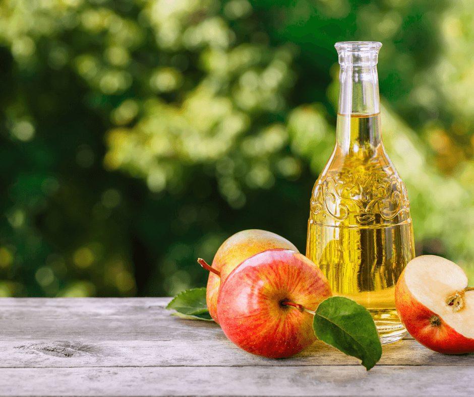 # 5 Apple cider vinegar + Chamomile