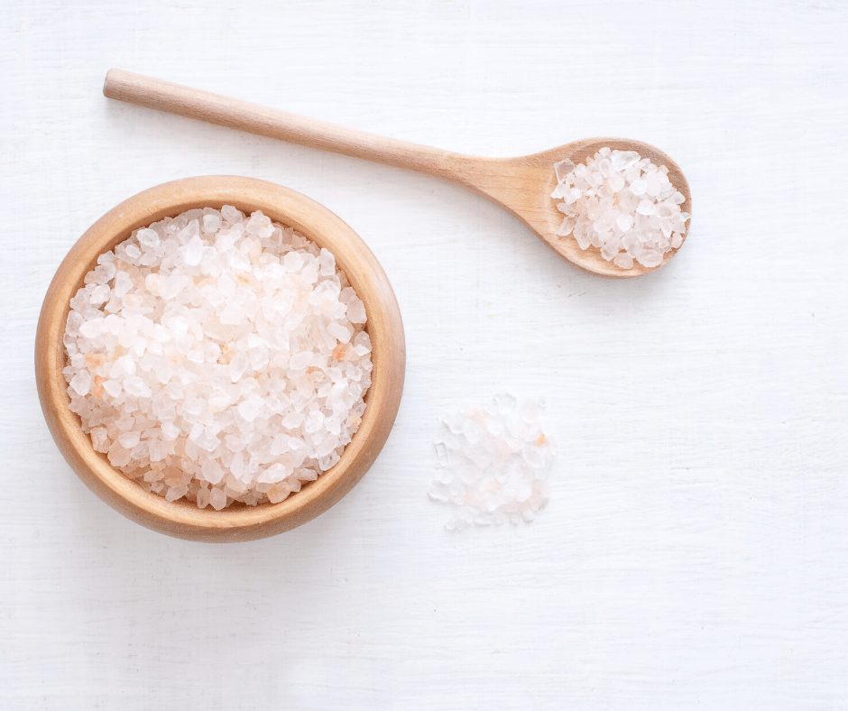 Even plain table salt may help lighten locks. Have you ever noticed how amazing and lighter our hair looks when we come back from a day to the beach?