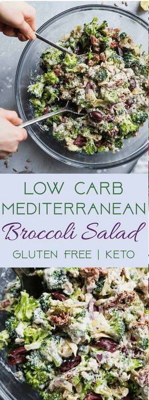 16+ Best Keto Salad Recipes for Summer Weight Loss: Low Carb, Gluten Free Broccoli Salad. Want Easy Keto Salad Ideas? If you're looking for delicious keto salad recipes low carb, best keto salads, ketogenic diet tips, or even keto salad recipes lunches and healthy keto dressing recipes, you'll find them all here! There's Keto salad recipes perfect for a crowd, Keto salad recipes ideas for lunch and dinners. #keto #salad #ketodiet #ketogenic #ketosalad #recipes #saladrecipes #ketosaladrecipes  #ketolunch  #dinner #lowcarb #egg