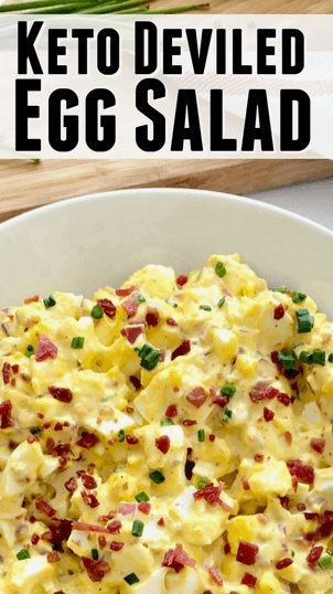16+  Best Keto Salad Recipes for Summer Weight Loss: Keto Deviled Egg Salad. Want Easy Keto Salad Ideas? If you're looking for delicious keto salad recipes low carb, best keto salads, ketogenic diet tips, or even keto salad recipes lunches and healthy keto dressing recipes, you'll find them all here! There's Keto salad recipes perfect for a crowd, Keto salad recipes ideas for lunch and dinners. #keto #salad #ketodiet #ketogenic #ketosalad #recipes #saladrecipes #ketosaladrecipes  #ketolunch  #dinner #lowcarb #egg
