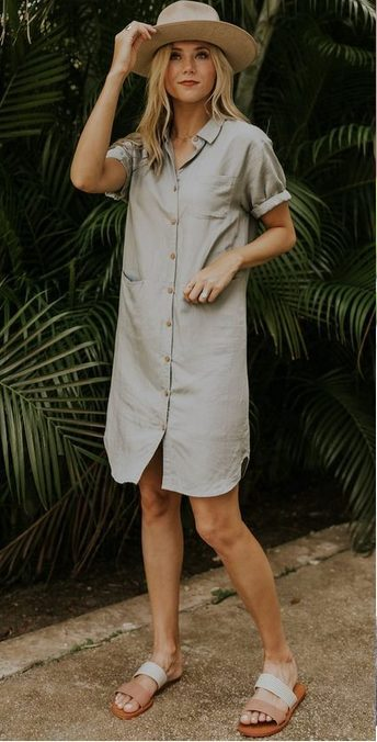 The best shirt dress outfit for women & t shirt fashion   STRAIGHT CUT - Looking for the perfect office dress shirt outfit to wear for summer? These shirt dress outfits and styles shirt are perfect to wear for warm weather. Find the best casual and chic dress shirt outfits for women that are, comfortable, and also the best fashionable t shirts summer outfits for women. #shirtdressoutfit #shirtdress #tshirtstyle #styleshirt #summeroutfits