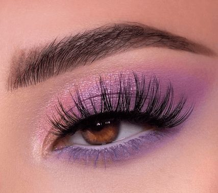Neon Purple Eye Shadow with Glitter    From Neon eyeshadow looks, neon eyeshadow in bright colors, from green, yellow, orange, hot pink, and blue. Beautiful eye makeup eyes, from neon eyeshadow makeup inspiration  colorful eye makeup, bright eye makeup, dramatic colorful eye makeup, and neon eyeshadow makeup tutorial, perfect for summer. Here you'll find the best bold ideas for bright neon eye makeup ideas, colorful eyeshadow, neon makeup glitter, and summer festival makeup #neoneyeshadow #neoneyemakeup #colorfuleyemakeup #brighteyemakeup #neoneyemakeupideas