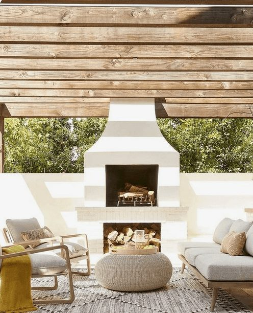 The Best Outdoor Patio Furniture on Amazon for Summer | Modern and Spacious Outdoor Patio. Looking for modern ideas for outdoor patio furniture? Find ideas on how to decorate outdoor patio, lounge areas, ideas layout, and small dining lounge areas with fire pit, set decks, outdoor porch ideas, cushions, backyard ideas and patio inspiration for small space during summer. #patiofurniture #outdoorfurniture #patiodecore #patioinspiration