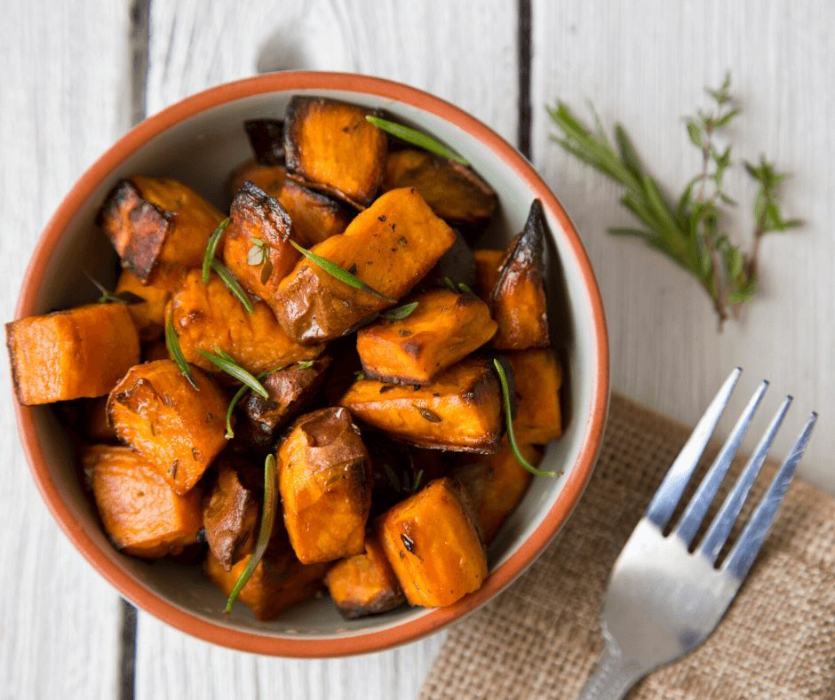 14 Delicious Super Foods for Flawless Skin. Sweet potato has high levels of the antioxidant beta-carotene, vitamin A and magnesium, which can act as anti-inflammatory agents. This helps with keeping skin smooth while regulating collagen production, which is essential for preventing wrinkles.