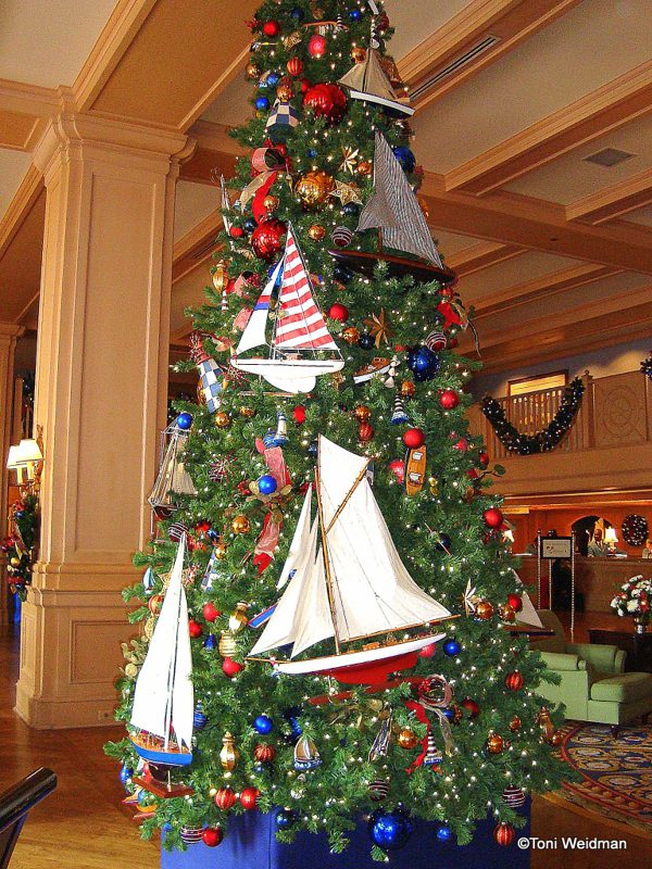 Sailor's Dream Christmas Tree | Want ideas for unique Christmas trees for the 2020 holiday season? Find inspiration ideas for your Christmas tree decoration from creative and unique xmas trees. From white, upside down, best Christmas trees on wall, pink Christmas trees, and even Disney Christmas tree decorations. From big and small unique Christmas tree ideas. Perfect for kids and for the holidays. #uniquechristmastree #christmastreeideas #christmastreeideas #christmas