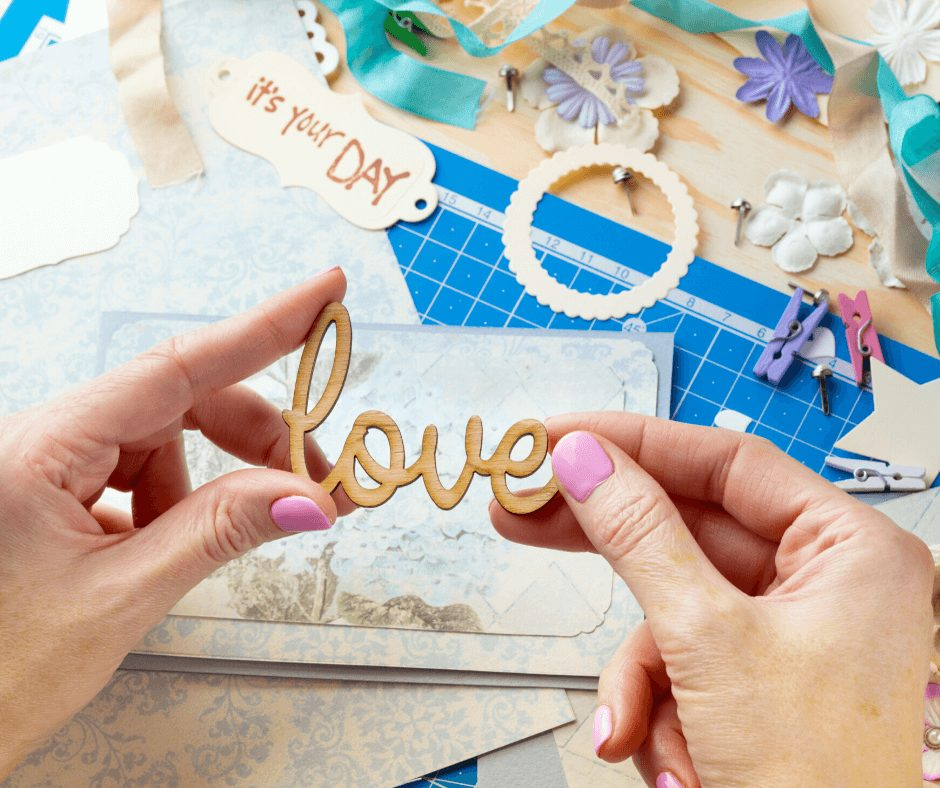 scrapbooking is one of the great hobbies for women to start in their 30s