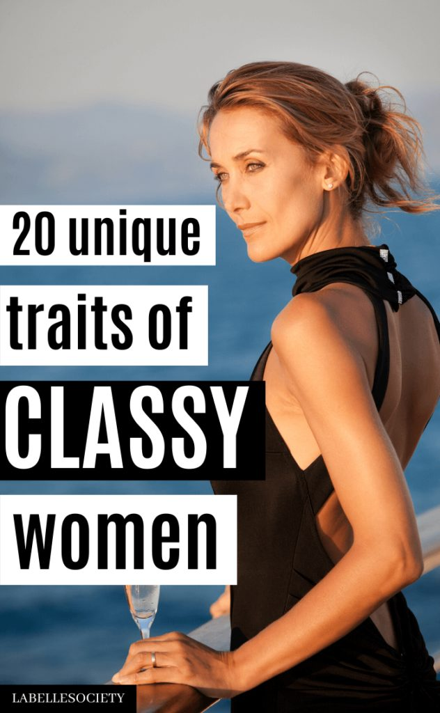 How to be a Classy Woman in 20 Easy Steps | Want tips on being a lady in life? Being a classy woman is not only about style and classy outfits, it is also about attitude and good habits to practice daily. Want to know the super simple secrets to being a high-class woman? Then this post is perfect for you. #howtobeclassywoman #classywomen #beclassy #womensclassy