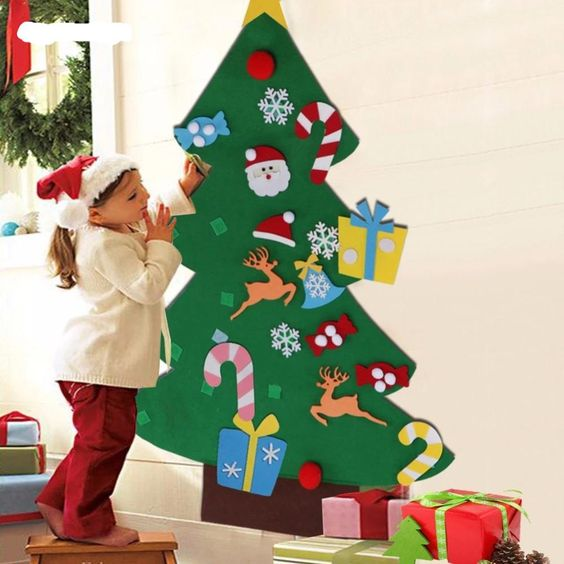 Creative Wall Christmas Tree | Want ideas for unique Christmas trees for the 2020 holiday season? Find inspiration ideas for your Christmas tree decoration from creative and unique xmas trees. From white, upside down, best Christmas trees on wall, pink Christmas trees, and even Disney Christmas tree decorations. From big and small unique Christmas tree ideas. Perfect for kids and for the holidays. #uniquechristmastree #christmastreeideas #christmastreeideas #christmas