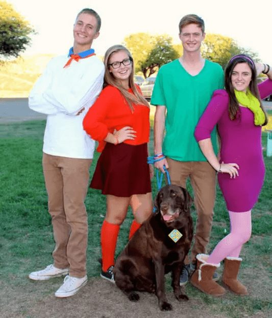 Scooby Doo and The Gang Halloween Costume | The best group Halloween costumes