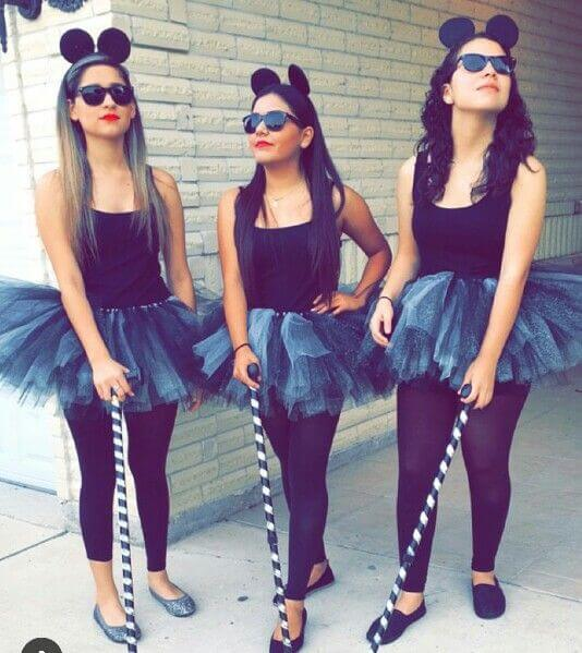 Three Blind Mice Halloween Costume for Girls | The best group Halloween costumes for girls