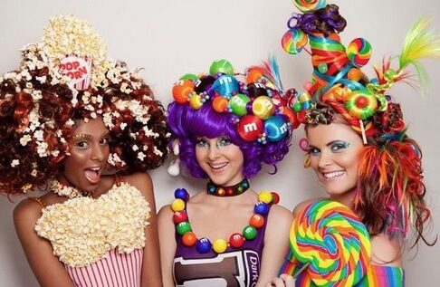 CandyLand Group Costume for Halloween | The best group Halloween costumes for girls