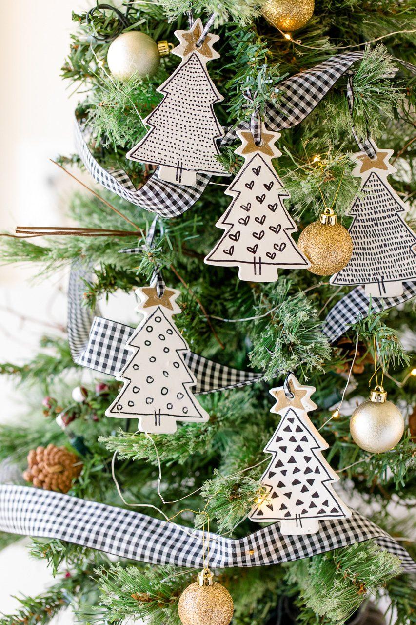 Christmas Tree Ornaments Diy For 2020 Holiday Season La Belle Society
