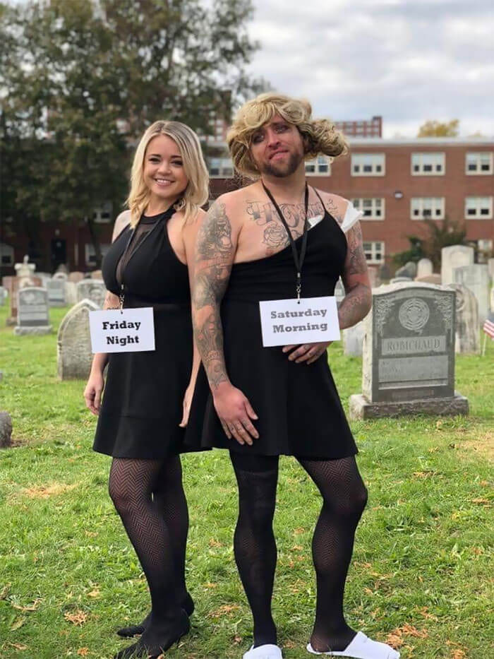 Funny Halloween Costume Ideas for Couples | Looking for iconic couples costume Halloween ideas for 2020? Find the best couples Halloween costume ideas, perfect for matching with your boyfriend. Find hot couples costume ideas, cool Disney characters costumes and the best DIY, funny, and scary couples Halloween costume inspiration.  #CouplesCostumeHalloween #couplescostume #halloweencouples #halloween
