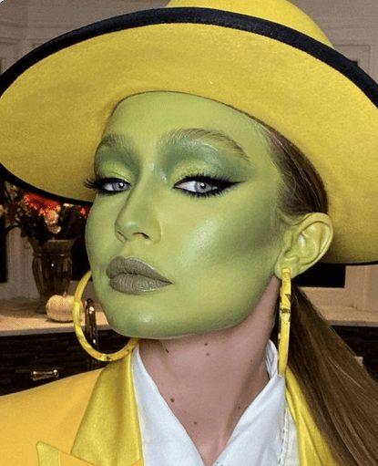 The Mask Makeup, by Gigi Hadid