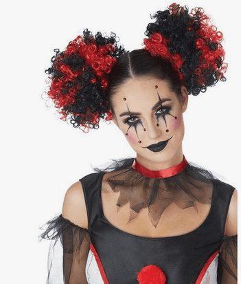Sexy Clown Halloween Makeup Idea for Halloween
