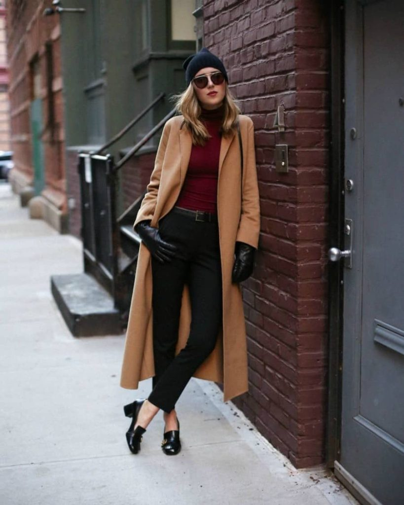 Elegant fall outfits: woman wearing an Elegant Fall Outfit