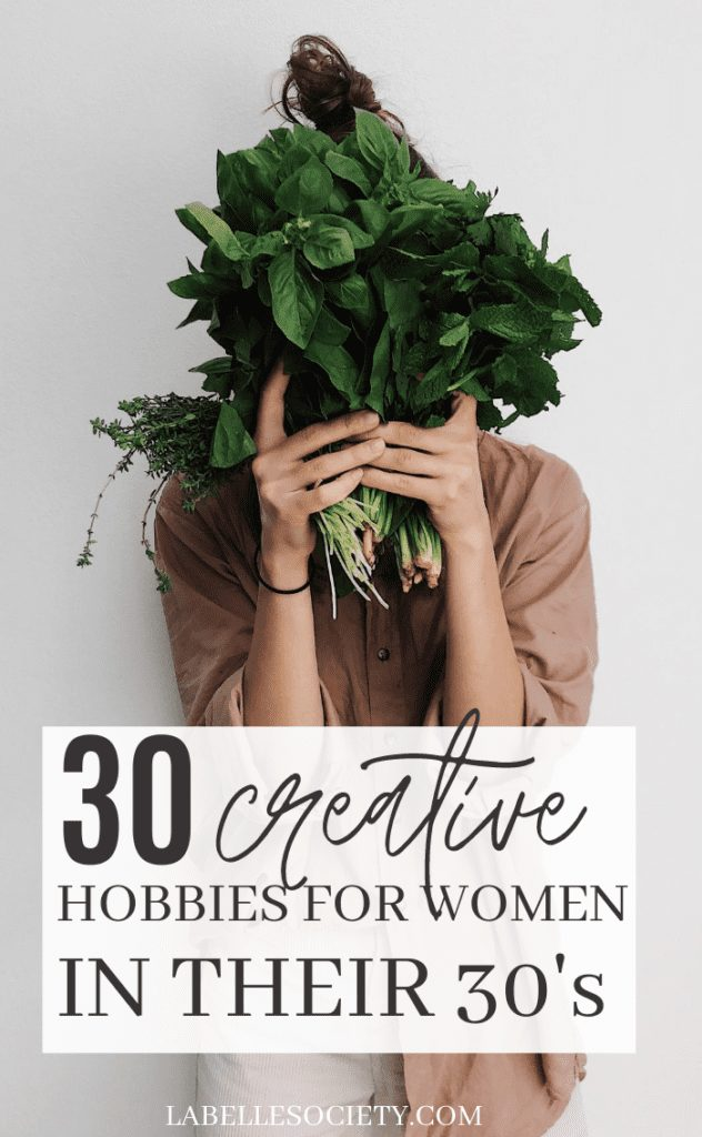 30 creative hobbies for women in their 30s | What are fun and cheap hobbies for women in their 30s? Looking for make money project ideas at home, or fun awesome hobby ideas for women? Tips for a fun life at 30 years and fun inspiration for best free, DIY & easy hobbies ideas for women. #hobbiesforwomenintheir30s #hobbiesforwomen #funprojects #boredathome #hobbiesathome
