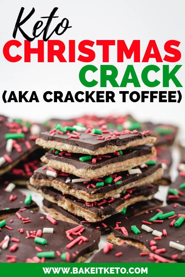 Looking for delicious sugar-free Christmas candy recipes, such as this Keto Christmas Crack ? Find the best keto candy recipes for Christmas party. From easy sugar-free candy recipe with apples, crockpot, and delicious homemade holiday fat bombs and treats #christmascandy #sugarfreecandy #ketocandyrecipes