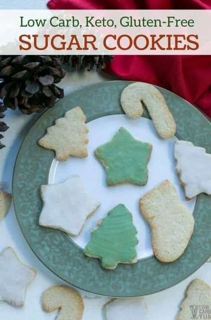 Looking for delicious sugar-free Christmas candy recipes, such as this Low Carb, Keto Sugar-free ''Sugar'' Cookies? Find the best keto candy recipes for Christmas party. From easy sugar-free candy recipe with apples, crockpot, and delicious homemade holiday fat bombs and treats #christmascandy #sugarfreecandy #ketocandyrecipes